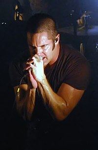 Reznor performing at the Music Box in Hollywood on September 8, 2009
