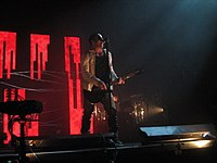 Live performance during the Live: With Teeth tour in 2006