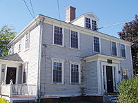 Edmund Fowle House, built in the 1700s and used by the Massachusetts government during the Revolutionary War
