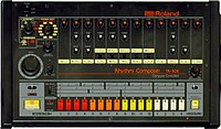 The Roland TR-808, the titular drum machine which served as a primary instrument on 808s and Heartbreak.