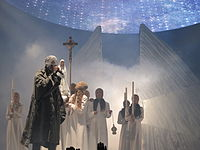 West on the Yeezus Tour in 2013