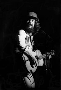 Ian Anderson playing with Jethro Tull at Hammersmith Odeon, March 1978