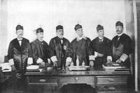 The first Supreme Court of Puerto Rico, appointed pursuant to the Foraker Act