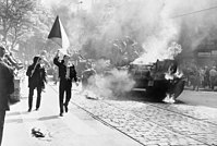The invasion of Czechoslovakia by the Soviet Union in 1968 was one of the biggest military operations on European soil since World War II.