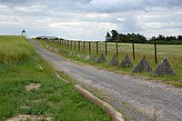 """Remains of the """"iron curtain"""" in the Czech Republic"""