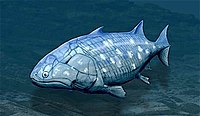 Guiyu oneiros, the earliest-known bony fish lived during the Late Silurian 419 million years ago.