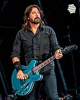 Dave Grohl (pictured in 2019) founded Foo Fighters after his band Nirvana disbanded in 1994.
