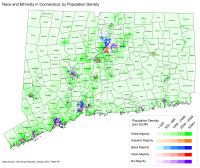 Racial and ethnic groups in Connecticut, 2010