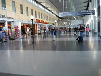 Bradley International Airport, the state's largest