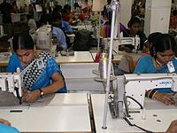 Women make up most of the workforce of Bangladesh's export oriented garment industry that makes the highest contribution to the country's economic growth.