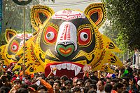 The annual Bengali New Year parade