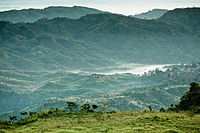 One of the highest peaks in the country, Keokradong