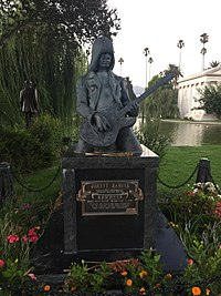 Ramone's monument at Hollywood Forever Cemetery
