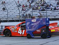 McDowell's 2009 No. 47 Nationwide car