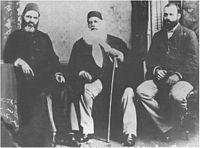 Nawab Mohsin-ul-Mulk, Sir Syed Ahmad Khan, Justice Syed Mahmood, he was the first Muslim to serve as a High Court judge in the British Raj.