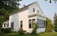 Garland's birthplace in Grand Rapids, Minnesota, is now a museum of Judy Garland