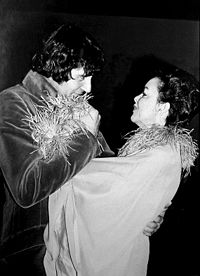 Mickey Deans and Garland at their London wedding in March 1969, three months before her death