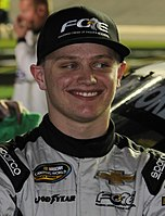 Justin Haley finished third in the championship.