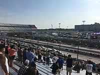 The JEGS 200 at Dover International Speedway  in May