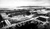Babcock & Wilcox Co. works in 1919, one of the many industrial sites that were once located in Bayonne