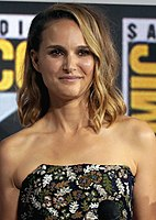Natalie Portman portrays the character of Jane Foster