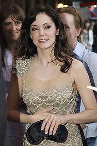 McGowan at the 2007 premiere of Grindhouse