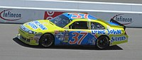 Kvapil in the No. 37 for Front Row Motorsports at Infineon Raceway in 2010