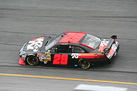 Kvapil drove for Yates Racing in their No. 28 Ford for the 2008 NASCAR Sprint Cup Series season. K&N Filters sponsored the team during the Daytona 500.