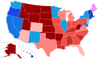 House votes by party holding plurality in state Democratic    Republican
