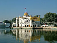 Lakshmi Narayan Mandir, popularly known as Durgiana temple, is a popular place of worship among city's residents.