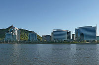 Hayden Ferry Lakeside development on the north end of Downtown Tempe