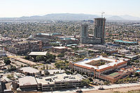 Downtown Tempe from Hayden Butte