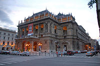 Hungarian State Opera House on Andrássy út (UNESCO World Heritage Site)