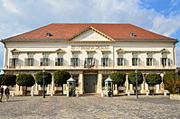 Sándor Palace is the official residence of the President of Hungary