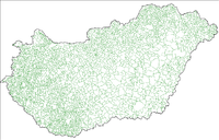 Towns and villages in Hungary
