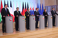 Meeting of Visegrád Group leaders, plus Germany and France in 2013