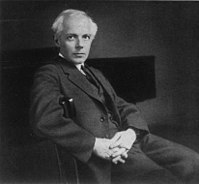 Béla Bartók, an influential composer from the early 20th century; one of the founders of ethnomusicology