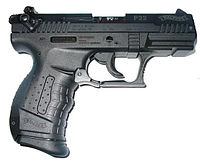 Walther P22, one of the two semi-automatic weapons Cho used in the shooting.
