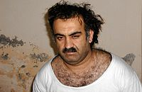 Khalid Sheikh Mohammed after his arrest in Rawalpindi, Pakistan, in March 2003