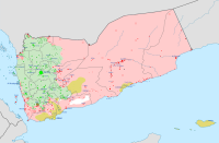 Current military situation in Yemen: