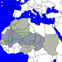 Al-Qaeda in the Islamic Maghreb (formerly GSPC) area of operations