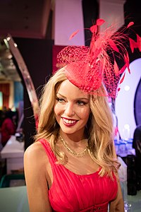 Wax statue of Minogue at the Madame Tussauds in London