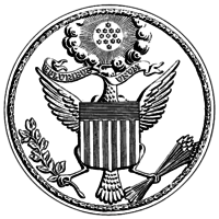 Great Seal of the United States of America during the war