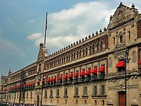 The National Palace of Mexico