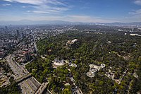 The Chapultepec was an important park during the Aztecs whose access had been limited to its nobility, was declared open to the public by a decree of Charles V, Holy Roman Emperor in 1530, it is one of the world's largest city parks.