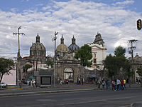 Some neighborhoods, such as San Ángel, retain a distinct urban design from their time as independent towns.