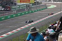 Mexican Grand Prix in Mexico City, a championship race for the Formula One.