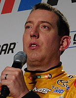 Kyle Busch, finished 5 points behind Martin Truex Jr. in second place