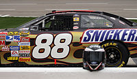The No. 88 driven by Ricky Rudd in 2007