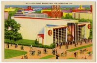 The RCA Pavilion featured early public television broadcasts